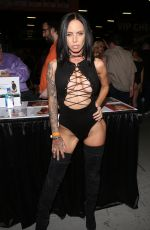 BRANDY ANISTON at Exxxotica Expo 2017 in New Jersey 11/03/2017