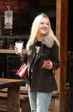 BRIA VINAITE Out for Coffee in Brooklyn 11/16/2017