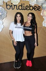 BRIE and NIKKI BELLA Host Launch of Their Birdiebee Brand of Clothing Birdiebee in Los Angeles 11/14/2017