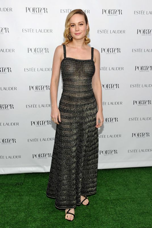 BRIE LARSON at Incredible Women Gala in Los Angeles 11/01/2017