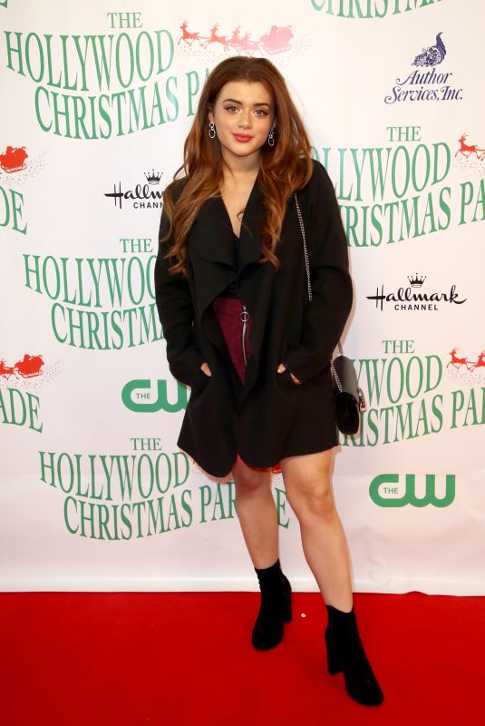 BRIELLE BARBUSCA at 86th Annual Hollywood Christmas Parade in Los Angeles 11/26/2017