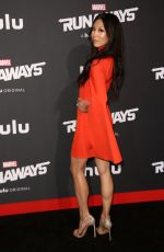 BRITTANY ISHIBASHI at Runaways Premiere in Los Angeles 11/16/2017