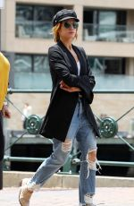 BRITTANY SNOW Out in Sydney 11/29/2017