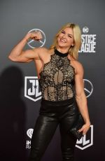 BROOKE ENCE at Justice League Premiere in Los Angeles 11/13/2017