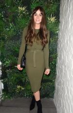 BROOKE VINCENT at Angela Mason Hair Extensions Salon Opening in Manchester 11/24/2017