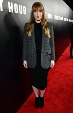 BRYCE DALLAS HOWARD at Darkest Hour Premiere in Los Angeles 11/08/2017