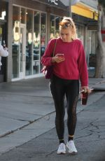 BUSY PHILIPPS Out and About in Los Angeles 11/18/2017