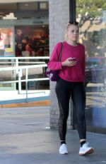 BUSY PHILIPPS Out for Coffee in Los Angeles 11/18/2017