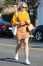 BUSY PHILIPPS Out Shopping in Beverly Hills 11/08/2017