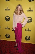 CAISSIE LEVY and PATTI MURIN at The Lion King 20th Anniversary Performance on Broadway in New York 11/06/2017