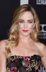 CAITY LOTZ at Justice League Premiere in Los Angeles 11/13/2017