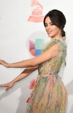 CAMILA CABELLO at Latin Grammy Awards 2017 in Las Vegas 11/16/2017