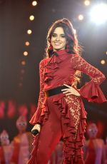 CAMILA CABELLO Performs at MTV EMA 2017 in London 11/12/2017