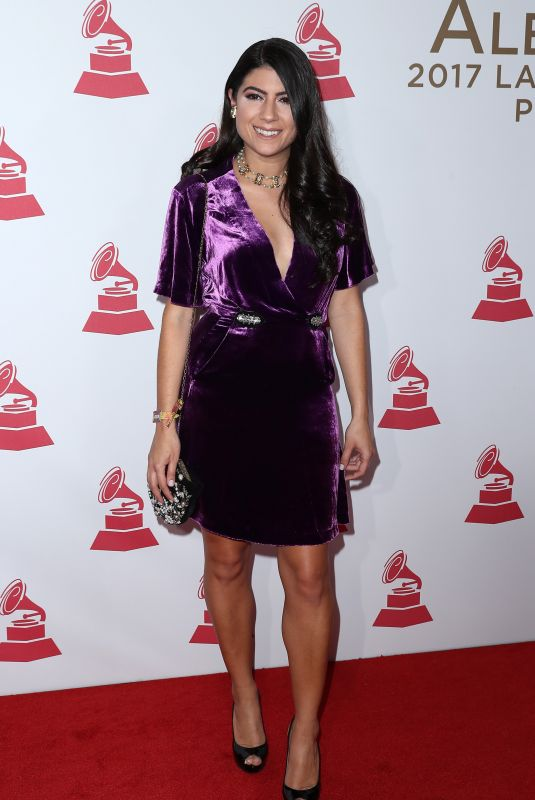 CAMILA LUNA at 2017 Latin Recording Academy Person of the Year Awards in Las Vegas 11/15/2017