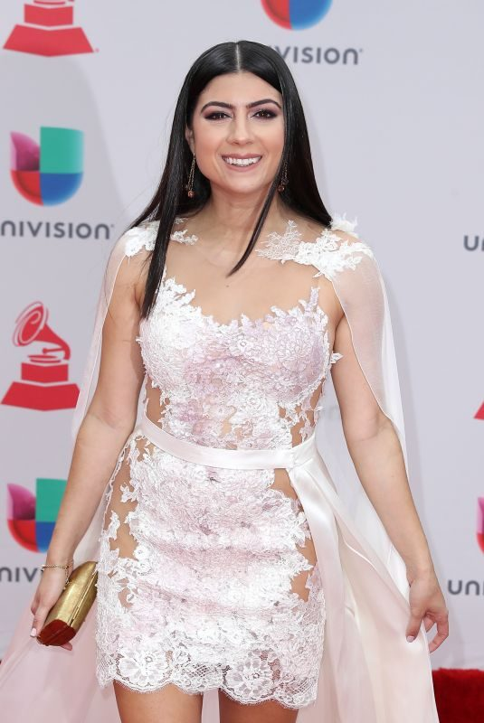 CAMILA LUNA at Latin Grammy Awards 2017 in Las Vegas 11/16/2017