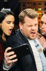 CAMILA MENDES at Late Show with James Corden in New York 11/21/2017