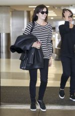 CAMILLA BELLE at LAX Airport in Los Angeles 11/13/2017