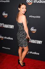 CAMILLA LUDDINGTON at 300th Grey's Anatomy Episode Celebration in Hollywood 11/04/2017