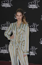 CAMILLE LOU at NRJ Music Awards in Cannes 11/04/2017