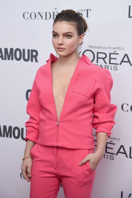 CAMREN BICONDOVA at Glamour Women of the Year Summit in New York 11/13/2017