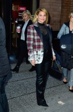 CANDACE CAMERON BURE Leaves Her Hotel in New York 11/21/2017