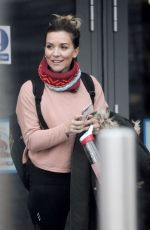 CANDICE BROWN at Dancing on Ice Rehersal in London 11/08/2017
