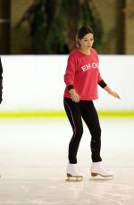 CANDICE BROWN at Dancing on Ice Rehersal in London 11/22/2017