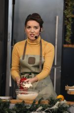 CANDICE BROWN at Ideal Home Show at Christmas 2017 - Eat & Drink Festival in London 11/25/2017