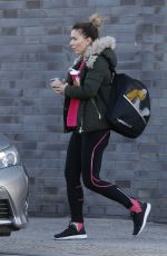CANDICE BROWN Leaves Dancing on Ice Practice in Essex 11/06/2017