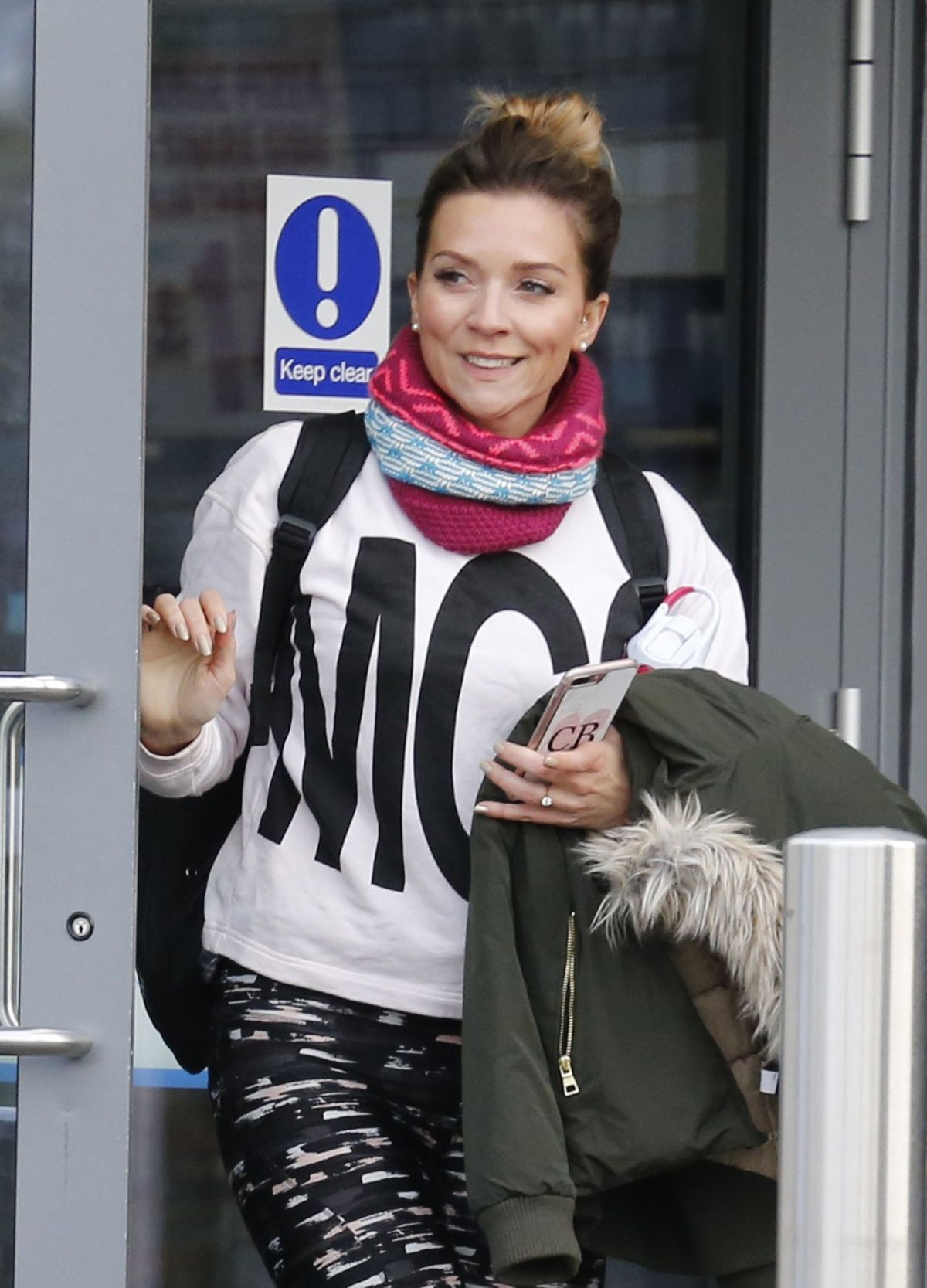 Candice Brown Leaves Dancing On Ice Rehersal In London 11 21 2017 Hawtcelebs