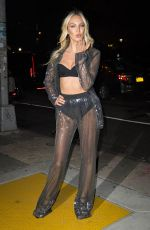 CANDICE SWANEPOEL Arrives at Victoria