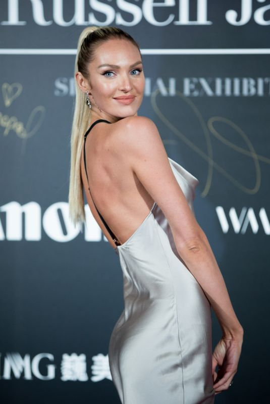 CANDICE SWANEPOEL at Mercedes-Benz Backstage Secrets by Russell James Book Launch and Shanghai Exhibition Opening Party 11/18/2017