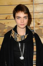CARA DELEVINGNE at Bollare Holiday Harvest x Timberland Fall Style Event in Beverly Hills 11/14/2017