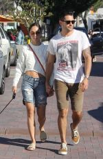 CARA SANTANA and Jesse Metcalfe Out in Los Angeles 11/25/2017