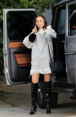 CARA SANTANA Out and About in West Hollywood 11/28/2017
