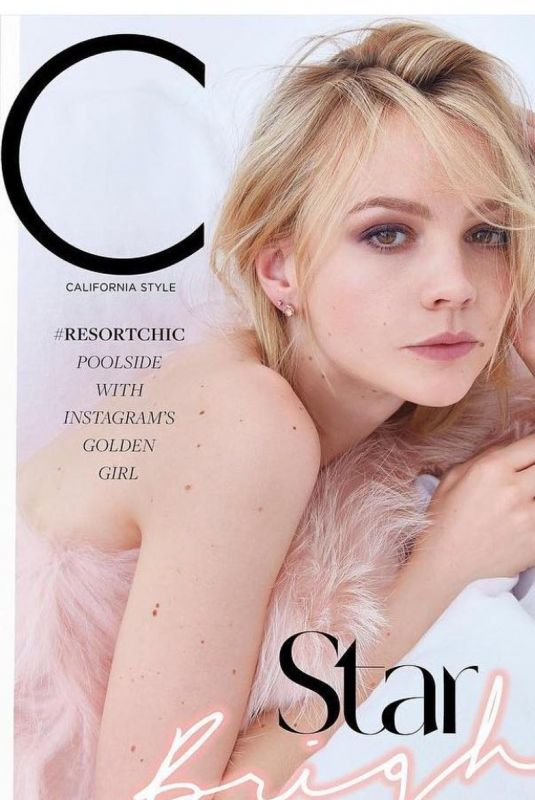CAREY MULLIGAN for C Magazine, December 2017