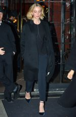 CAREY MULLIGAN Leaves Her Hotel in New York 11/14/2017