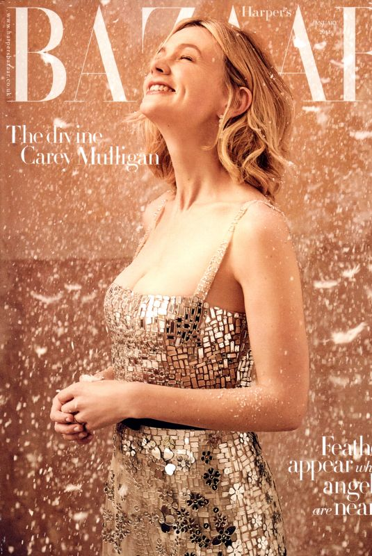 CAREY MULLIGAN on the Cover of Harper