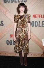 CARLA GUGINO at Godless Series Premiere in New York 11/19/2017
