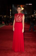 CARLY STEEL at Murder on the Orient Express Premiere in London 11/02/2017