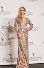 CARMEN AUB at 2017 International Emmy Awards in New York 11/20/2017