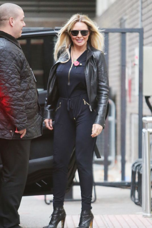 CAROL VORDERMAN Leaves ITV Stduio in London 11/07/2017