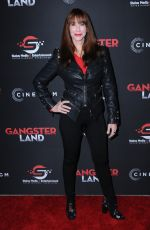 CAROLINE WILLIAMS at Gangster Land Premiere in Los Angeles 11/29/2017