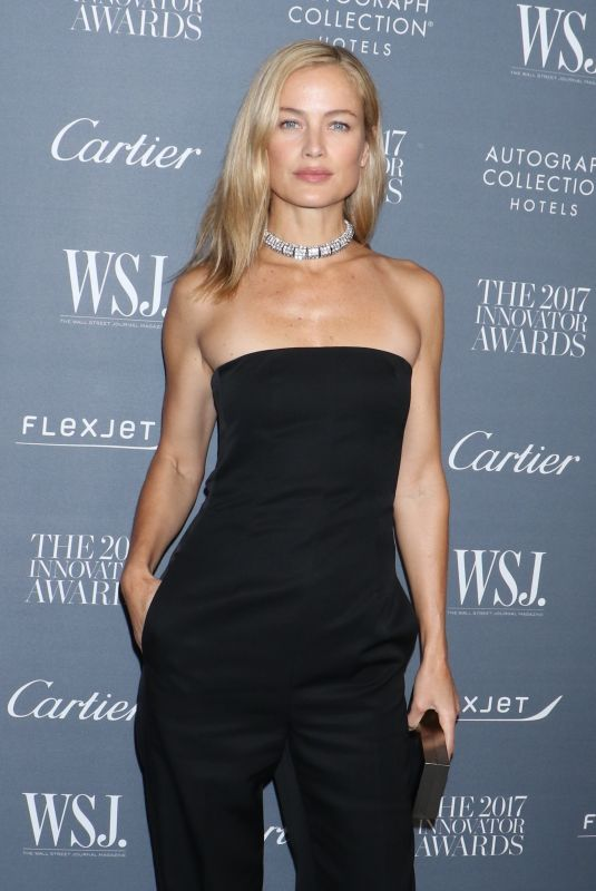 CAROLYN MURPHY at Wall Street Journal Magazine 2017 Innovator Awards in New York 11/01/2017