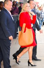 CARRIE UNDERWOOD at Good Morning America in New York 11/02/2017