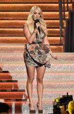 CARRIE UNDERWOOD Performs at 51st Annual CMA Awards in Nashville 11/08/2017