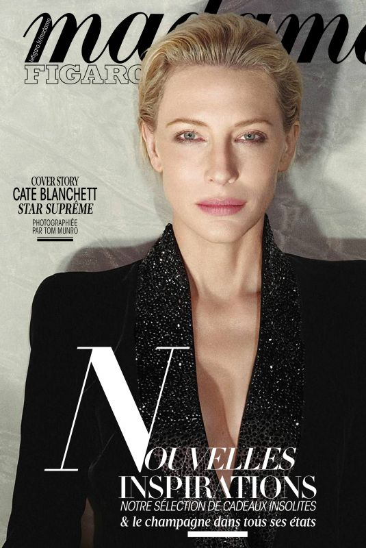 CATE BLANCHETT in Madame Figaro Magazine, November 2017 Issue