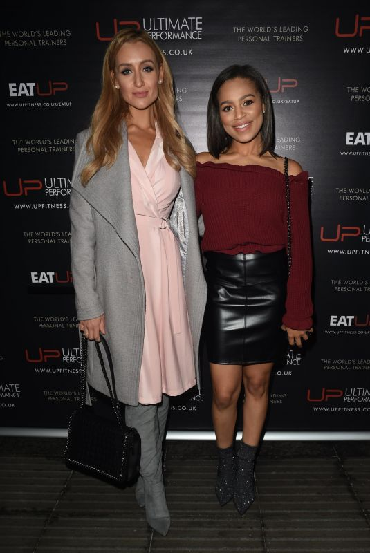 CATHERINE TYLDESLEY and TISH MERRY at Refinery Restaurant Opening in Manchester 11/08/2017