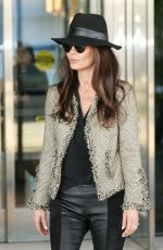 CATHERINE ZETA JONES at JFK Airport in New York 11/10/2017