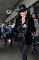 CATHERINE ZETA JONES at Los Angeles International Airport 11/08/2017